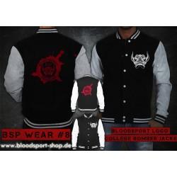 BSP Wear 08-Bloodsport Logo / College Jacke